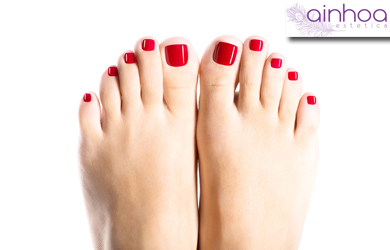 Pedicura Spa con esmaltado