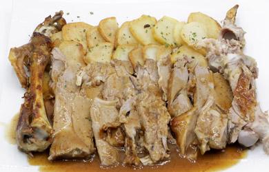 Menú especial en Restaurante Ametzagaña