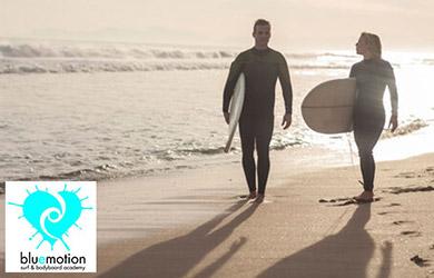 Curso de Surf  en Pareja - Fin de Semana 3h con todo el material