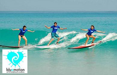 Curso de surf en grupo fin de semana 3h