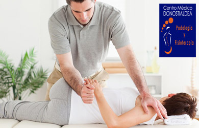 Sesión de fisioterapia de 60 min con valoración previa y tratamie