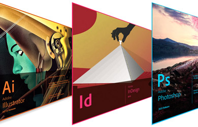 Pack de 3 cursos de Photoshop CS6 + InDesign CS6 + Illustrator CS