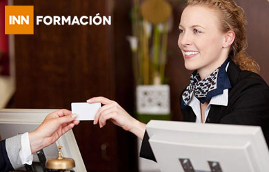 Curso online recepcionista hotel + inglés profesional para el tur