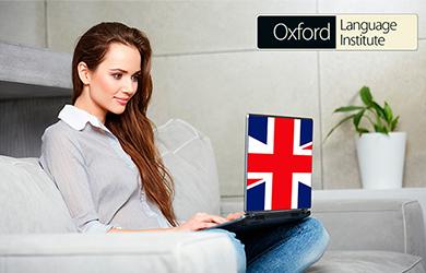 Bono de 6 meses de curso online de inglés con certificado en Oxfo