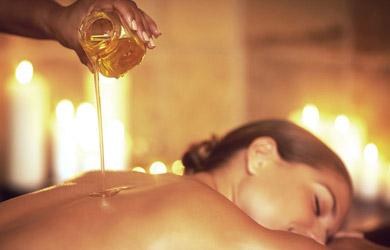 Masaje relajante con aromaterapia de 90 min