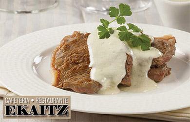 Menú Txuleta en el restaurante Ekaitz
