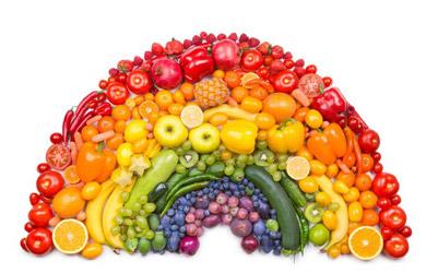 Dieta de choque Arco iris