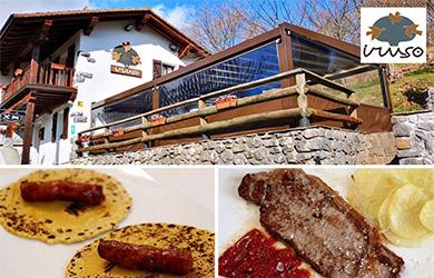 Menú en el Restaurante Iruso