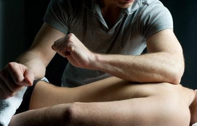Masaje deportivo de pies y piernas o espalda y cuello