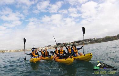 Descenso del Bidasoa en kayak en Biriatou