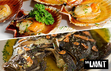 Menú especial en el Bar Labrit para compartir
