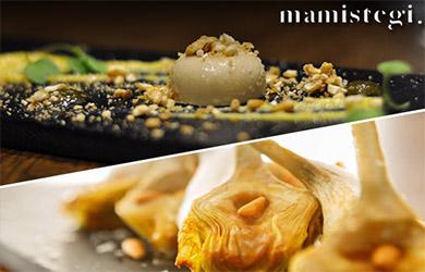 Menú especial en Mamistegi Jatetxea