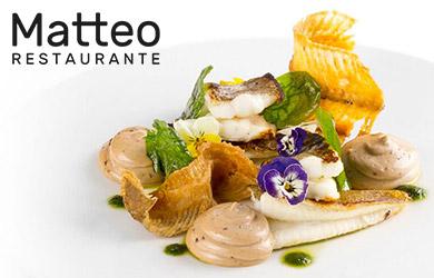 Menú degustación en el Restaurante Matteo