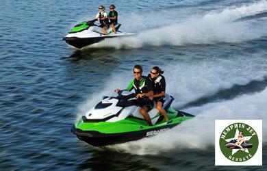 Ruta de 60 min en moto de agua para 1 o 2 personas