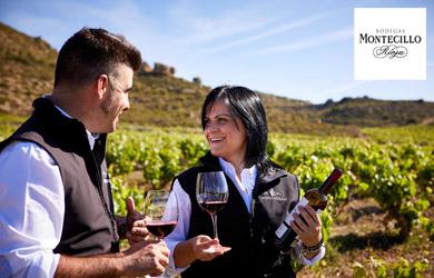 Visita guiada + cata + picoteo + botella de vino reserva  en La R