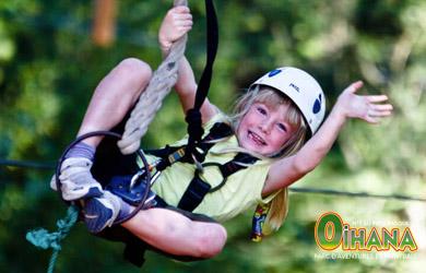 Recorrido infantil Tiki Park de 3 a 8 años