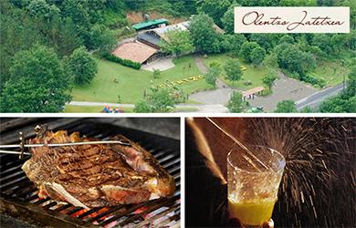 Menú sidrería en Olentzo Jatetxea con Txuleta Premium