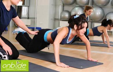 Bono de 1 mes de entrenamiento personalizado en gimnasio femenino