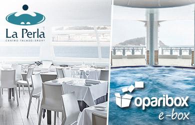 Opari e-box - Un baño de salud - Talasoterapia y Gastronomía para