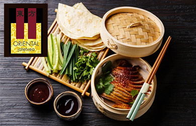 Menú China Imperial en el Oriental II