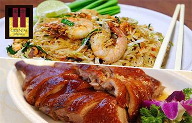 Menú thailandés en el Oriental II