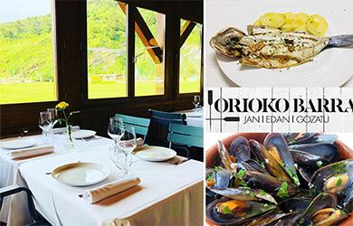 Menú en Restaurante Orioko Barra Jatetxea