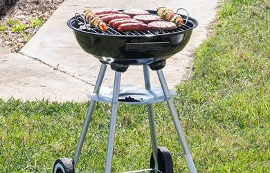 Barbacoa de exterior perfecta para cocinar al aire libre.