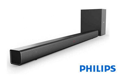 Philips HTL1520B/12 Barra de Sonido Bluetooth con Subwoofer 40W