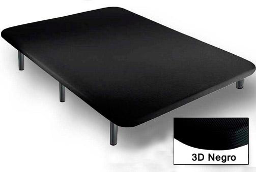 Base tapizada super reforzada en negro