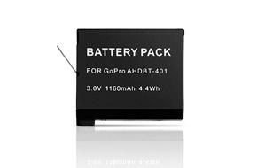 Batería de Recambio para GoPro Hero 4 Black + Hero 4 Silver