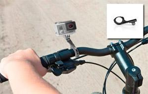 Soporte GoPro de Aluminio para Bicicleta