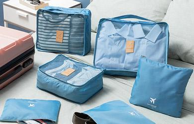 Set de bolsas organizadoras para maletas luggan