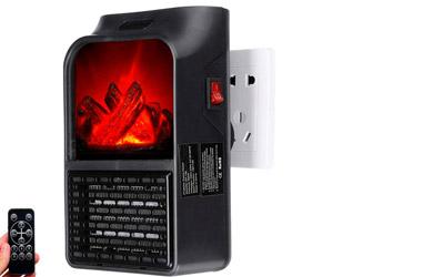 Calefactor efecto chimenea