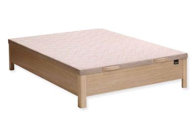 Canapé de madera abatible 4 patas Txindoki