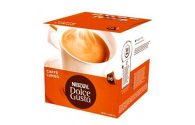 Cápsula de café con estuche Nescafé dolce gusto (16 UDS)