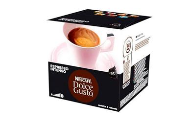 Cápsula de café con estuche Nescafé dolce gusto espresso intenso