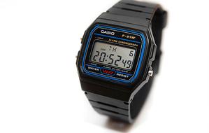 Reloj F-91 de CASIO
