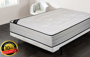 Colchón visco-fresh con altura de 30cm