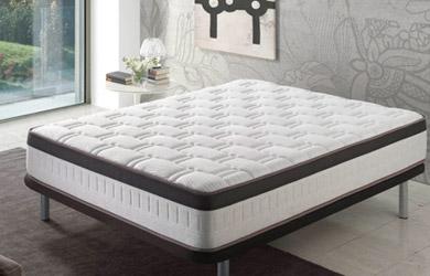 El colchón Visco Supreme de alta calidad proporciona un confort ó