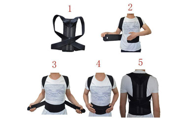 Corrector postural ajustable
