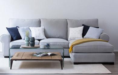Sofás de todo tipo de estilos y tamaños para el mejor descanso