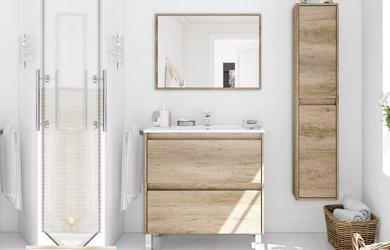 Mueble de lavabo 80cm