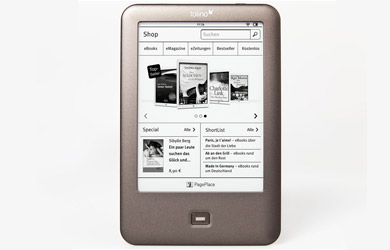 Ebook Shine con 4 GB