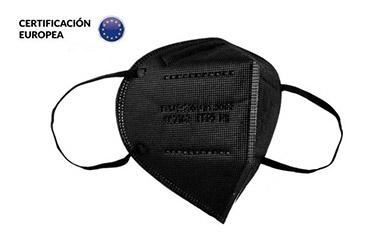 Pack de 20 Mascarillas FFP2 color negro