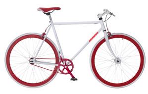 Bicicleta 700 Fixed de carretera, cuadro de acero, piñon fijo, si