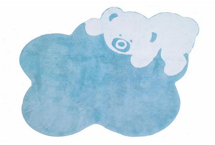 Alfombra oso, 100% algodón. Varios colores a elegir.