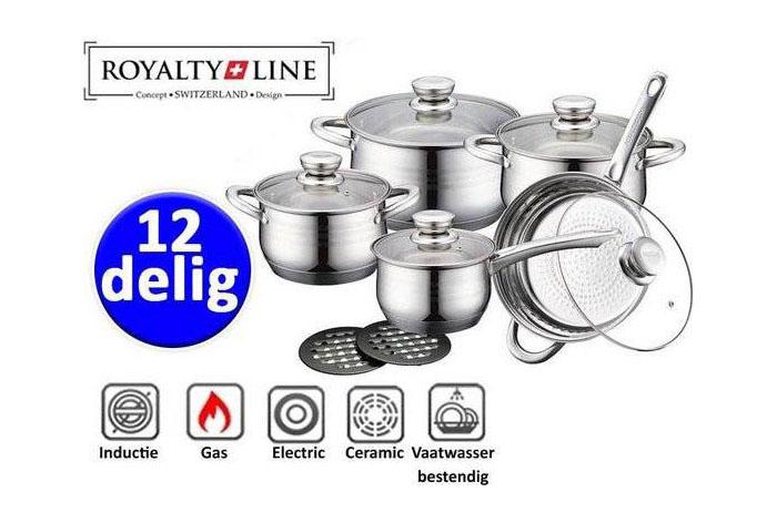Batería de Cocina de 12 pzs