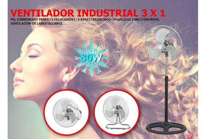 Ventilador Industrial 3 x 1