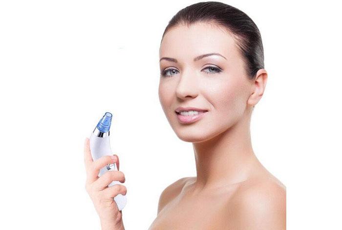 Limpiador Facial Eléctrico Succionador de Puntos Negros y Espinil