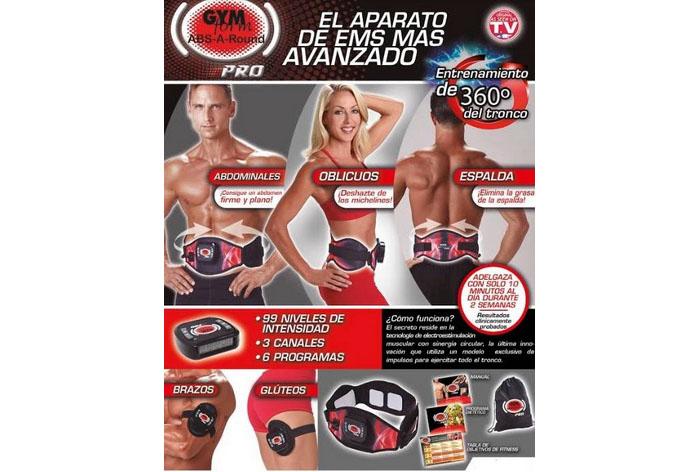Cinturón ABS-A-Round Pro Platinum